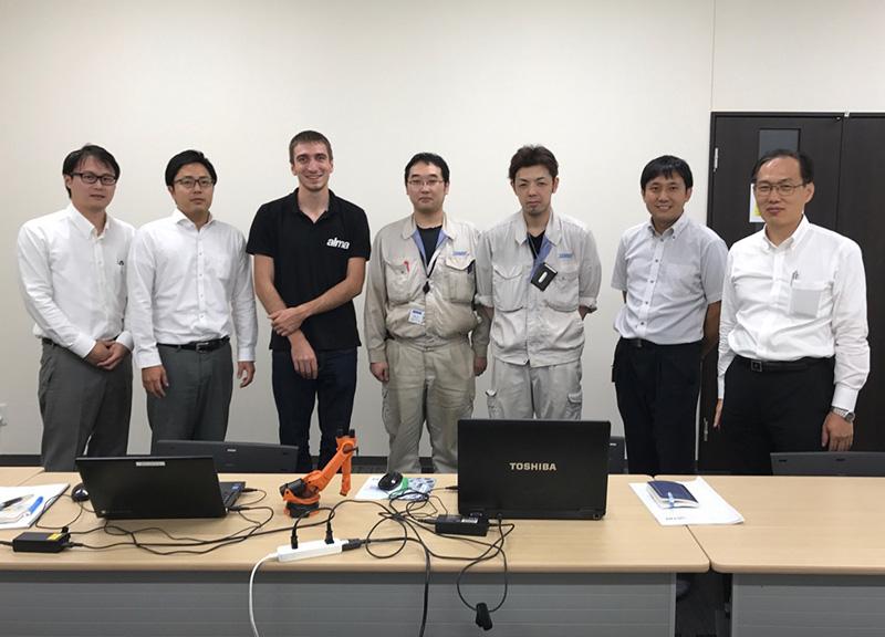 A new Japanese partner - Almacam