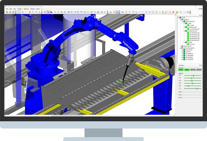 almaCAM Weld, CAD/CAM software for robotized welding - Almacam