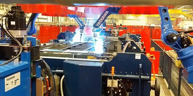 Robotized welding - Almacam